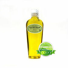 8 OZ MUSTARD SEED OIL 100% PURE COLD PRESSED ORGANIC