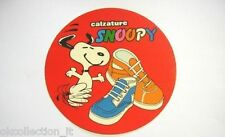 ADESIVO anni '80 / Old Sticker _ SNOOPY CALZATURE (cm 13) scarpe /shoes