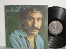 JIM CROCE Life And Times LP Roller Derby Queen Bad Leroy Brown Alabama Rain