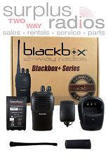 NEW Blackbox+ UHF 430-470MHZ 16CH RADIO HAM FIRE POLICE WORKS WITH CP200