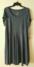 Plus Size SONOMA Goods for Life Scoopneck Fit & Flare Dress Size 1X NEW with TAG