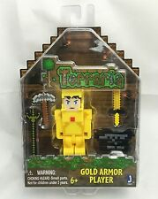 Terraria - Gold Armor Player Action Figure with Accessories (Series 1) Jazwares