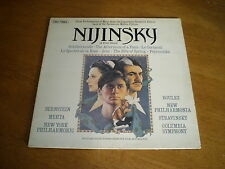 NIJINSKY - MUSIC FROM DIAGHILEV BALLETS = CBS 73885 INSERT