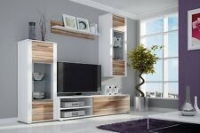 TV Wall Unit BEN New Modern Set of Living room Furniture FREE DELIVERY