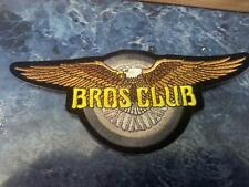 HARLEY DAVIDSON HOG BROS CLUB BROTHERS PATCHES PATCH