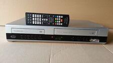 COMBO THOMSON VIDEOREGISTRATORE E DVD DIVX HIFI STEREO TELECOMANDO FUNZIONANTE