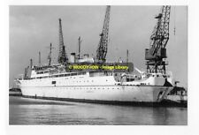 rp7710 - UK Cable Ship - Mercury , built 1962 - photo 6x4