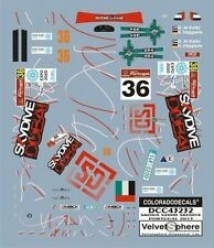 "DECALS 1/43 SKODA FABIA S2000 #36 ""SKYDIVE"" PORTUGAL 2013  - COLORADO  43232"
