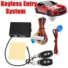 Auto Cars Remote Control Central Door Locks Locking Keyless Entry Kit Set