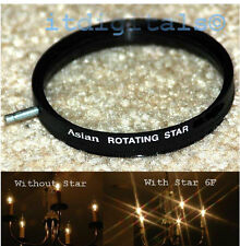 49mm Rotating Star 6F Lens Filter Six Point Flares Stars Special Light Effect