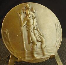 Médaille Défense passive Quimper Madeleine Le Reste par Albert Herbemont Medal 铜