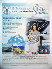 PUBLICITE-ADVERTISING :  CROISIERE DES MISS  2016 Miss France