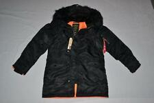 AUTHENTIC ALPHA INDUSTRIES MENS SLIM FIT N-3B PARKA BLACK  M MEDIUM BRAND NEW