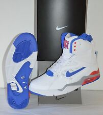 New Nike Air Command Force White/Lyon Blue/Bright Crimson Sky Top sz 11.5 Retro
