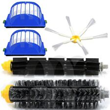 For Roomba 700 Beater + Bristle + side-6 Brush 2 aerovac filters 770 780 500 595