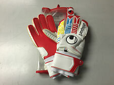 Uhlsport Ergonomic Goal Keeper Gloves Size 11 Flat Palm