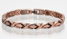 NEW COPPER MAGNETIC LINK BRACELET lady womens STYLE#LXO  jewelry health Energy