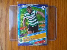 2016-17 Topps Soccer Match Attax Islam Slimani Foil Refractor - Champions League