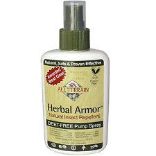 All Terrain, Natural Insect Repellent Deet-Free Pump Spray, 4 fl oz (120 ml)