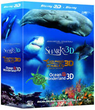 Jean-Michel Cousteau's Film Trilogy in 3D (3D Edition) [Blu-ray]