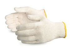 300 PAIR WHITE POLY COTTON STRING KNIT WORK GLOVES -Made in Korea