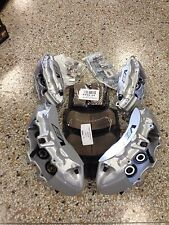Cadillac CTS-V 6 Piston Silver Brembo Calipers Front & Rear w/ pads + pins ZL1