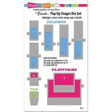 New Stampendous DIE POP UP STAGES DIE SET FOR POP UP CARDS free usa ship