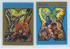1992 Skybox, X-Men Storyline, X-Cutioner's Song, M.L.F. or Jean Gray & Cyclops