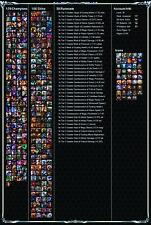 LOL League of Legends Account EUW Level 30 smurf 129 Champions 156 Skin