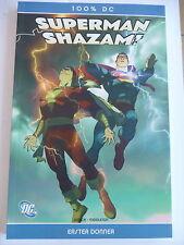 1x bande dessinée 100% DC Nº 4-superman shazam-premier tonnerre-état 1