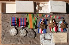 CANADIAN WWII MEDAL 11PIECE LOT 39-45 STAR ITALY FRANCE GERMANY WW2 WAR MEDAL