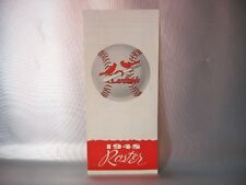 vintage 1948 ST LOUIS CARDINALS ROSTER MLB BASEBALL SCHEDULE