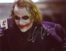 HEATH LEDGER - THE JOKER- HAND SIGNED AUTOGRAPHED PHOTO WITH COA - NOT A REPRINT