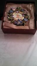 """Versailles 2""""X2"""" Picture Photo Frame Metal beautiful butterfly new original box"""