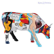 PICOWSO'S SCHOOL FOR THE ARTS CowParade Figurine LARGE Picasso Cow Parade