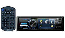"JVC KD-AV31 3"" Single-Din Car Audio Stereo/Receiver/Player w/DVD/USB + Remote"