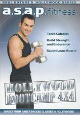 A.S.A.P. FITNESS PAUL KATAMI HOLLYWOOD BOOTCAMP 4X4 DVD INTERVAL WORKOUT ASAP