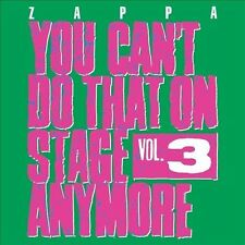 NEW You Can't Do That On Stage Anymore, Vol. 3 by Frank Zappa CD (CD) Free P&H