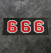 "HELLS ANGELS Support 81 Patch Aufnäher ""666"" P16"