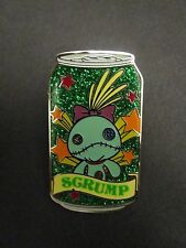 Hkdl Hong Kong Disney Disneyland Trading Tin Pin Stitch Scrump Soda Can 66511