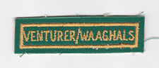 SCOUTS OF SOUTH AFRICA - SOUTH AFRICAN SCOUT VENTURER WAAGHALS STRIP Patch