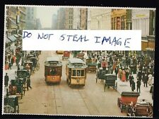 New York Postcard (Read Description) C 1900s Trolleys At 23 Street Near 6 Avenue