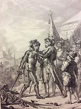 Bataille de Renty 1554 Henri II l'Ordre de Saint-Michel au maréchal de Tavannes
