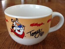 Kellogg's Tony the Tiger Cereal  Bowl Mug, Microwave & Dishwasher Safe, Mint