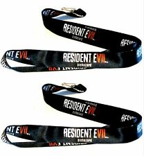 Lot Of 2 New Resident Evil 7 Biohazard Lanyard Pax South 2017 Gaming Convention