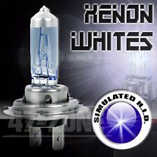 1x Universal Pilot H7 White Xenon High Low Beam Head Light Fog Lamp Bulbs