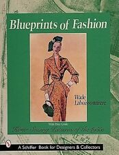 Blueprints of Fashion - Home Sewing Patterns of the 1950s  over 600 color photos