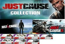 Just Cause Collection (1+2+ all dlcs) Steam key NO VPN Region Free UK Seller