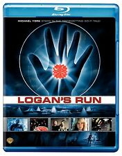 LOGAN'S RUN (1976 Michael York)    Blu Ray - Sealed Region free