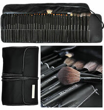 35Pcs Black Soft Cosmetic Makeup Brush Set W Pouch Bag Case All-Time Artist 811